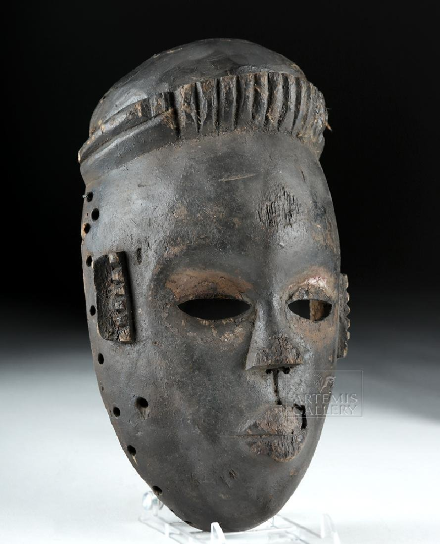 Mid-20th C. African Ogoni Wooden Face Mask - 2