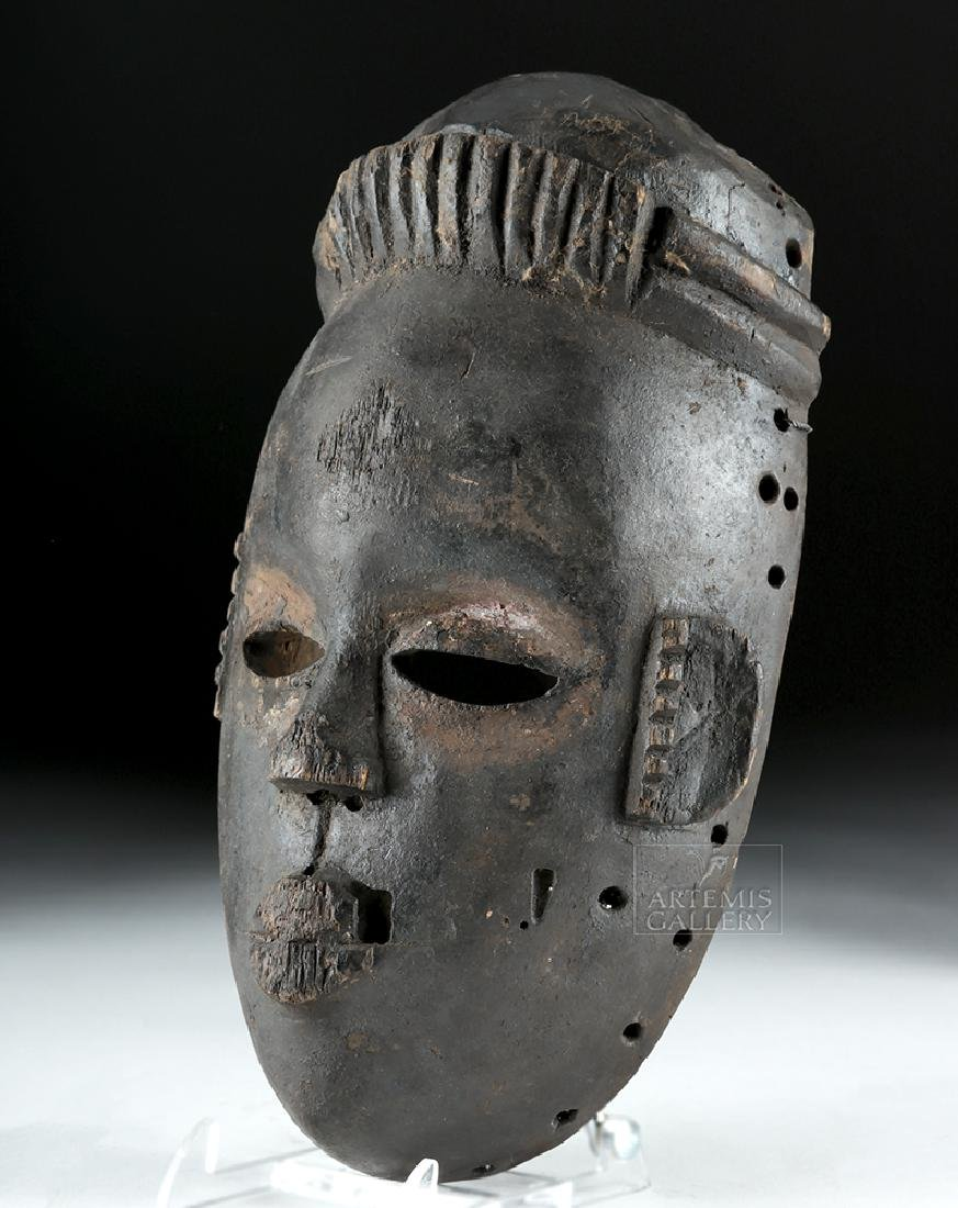 Mid-20th C. African Ogoni Wooden Face Mask - 3