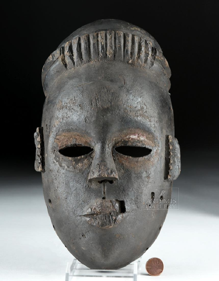 Mid-20th C. African Ogoni Wooden Face Mask - 5
