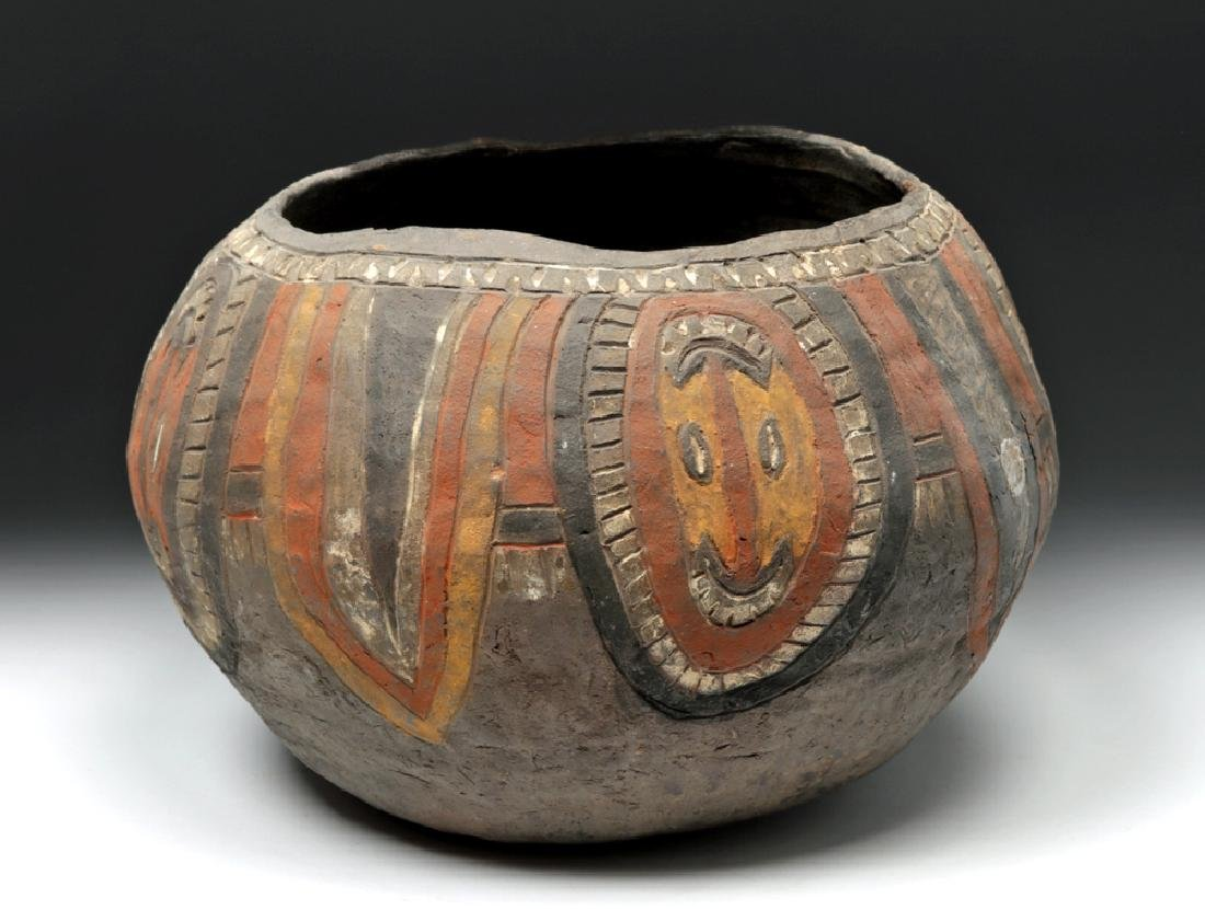 20th C. Papua New Guinea Wosera Clay Jar