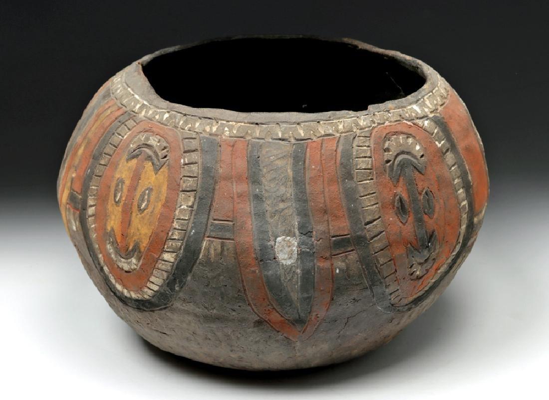 20th C. Papua New Guinea Wosera Clay Jar - 2