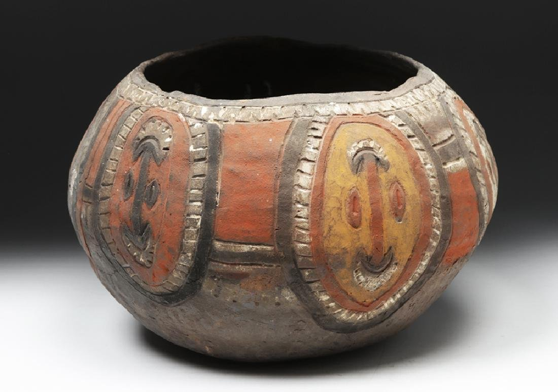 20th C. Papua New Guinea Wosera Clay Jar - 3