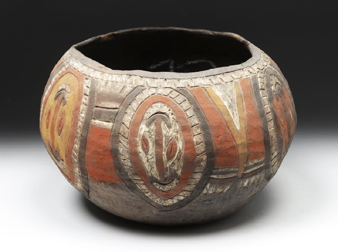 20th C. Papua New Guinea Wosera Clay Jar - 4