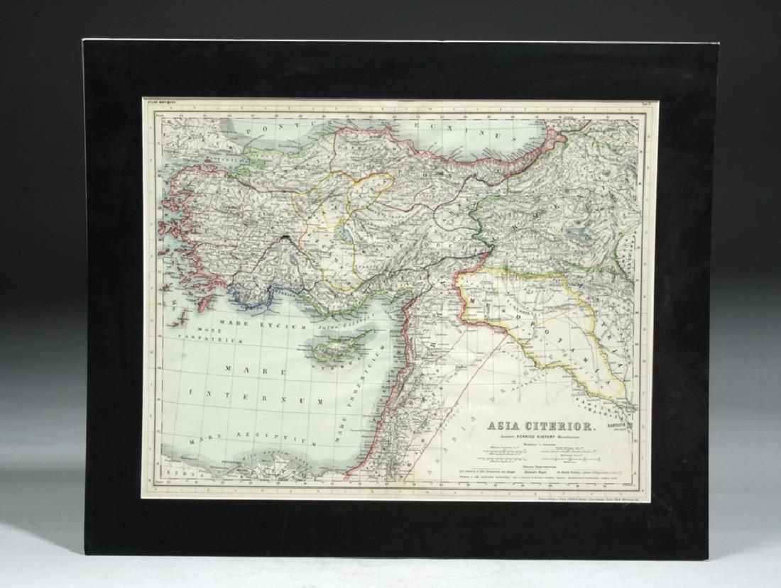 Three 19th C. Maps & Two 19th C. Prints - 4