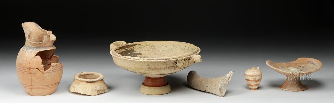 Six Ancient Greek Pottery Pieces / Fragments - 2