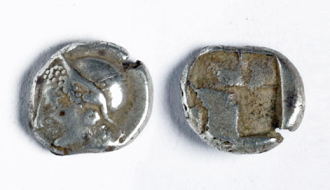 Silver Diobol from Ionia in Asia Minor - Phokaia