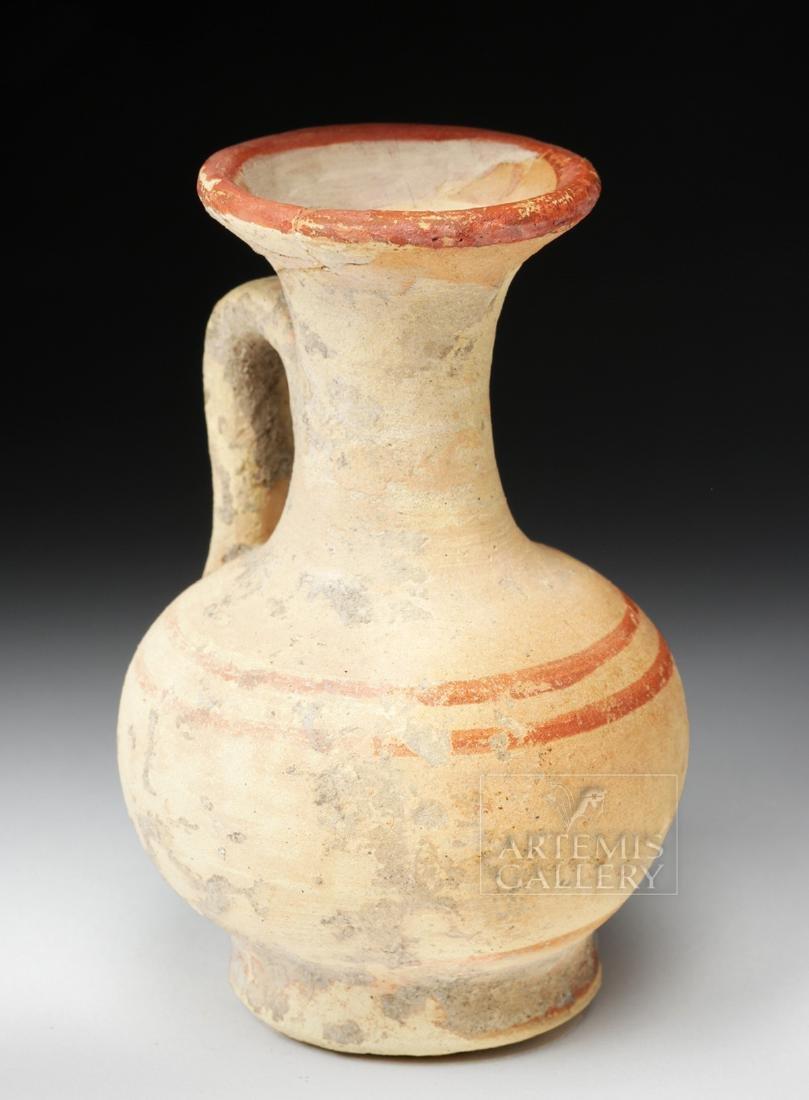 Greek South Italic Pottery Bichrome Oinochoe - 2