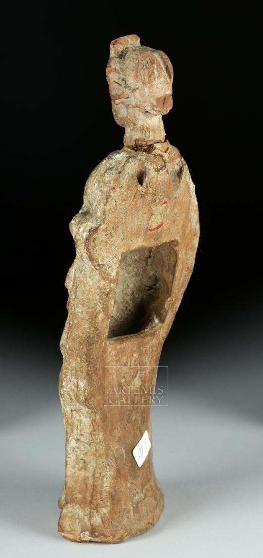 Greek Tenagran Figure of Woman, ex-Bonhams - 4