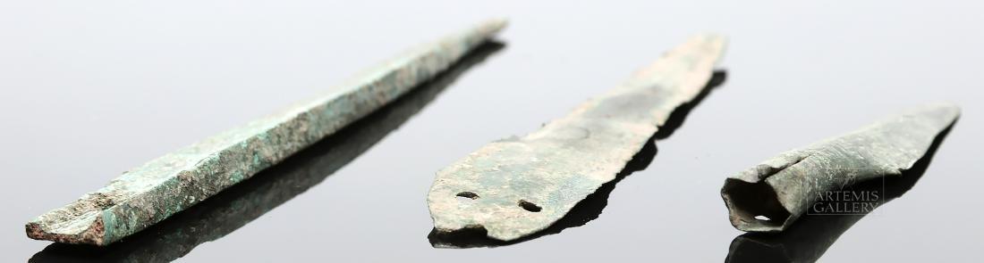 Trio of Celtic Bronze Weapons - 3