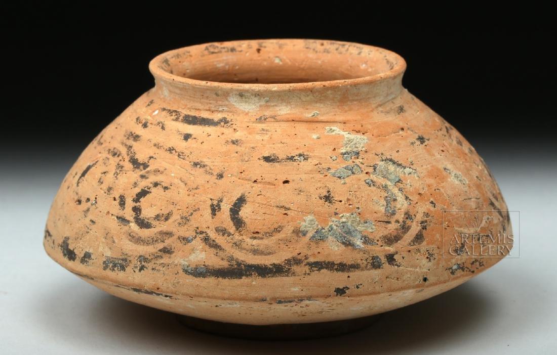 Indus Valley Geometric Pottery Pyxis - 3