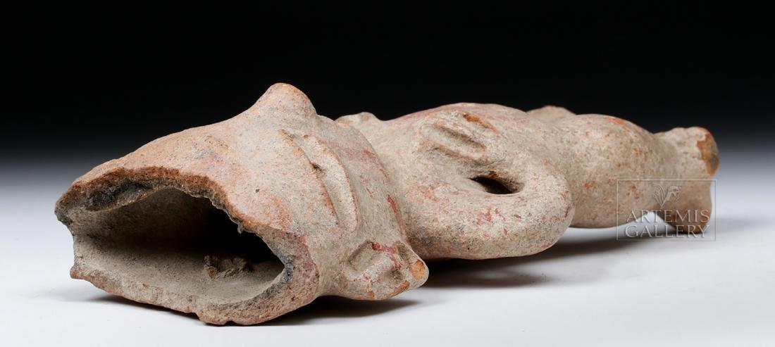 Fine Tlatilco Pottery Standing Figure - 6