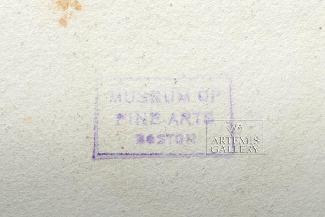 British Engraving Pair - T Baxter 1810 - Romans, Ex MFA - 4