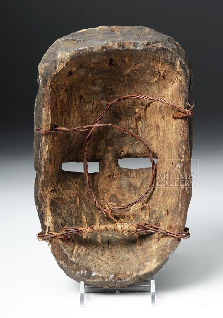 Early 20th C. Bini (Edo) Wood Mask - 4