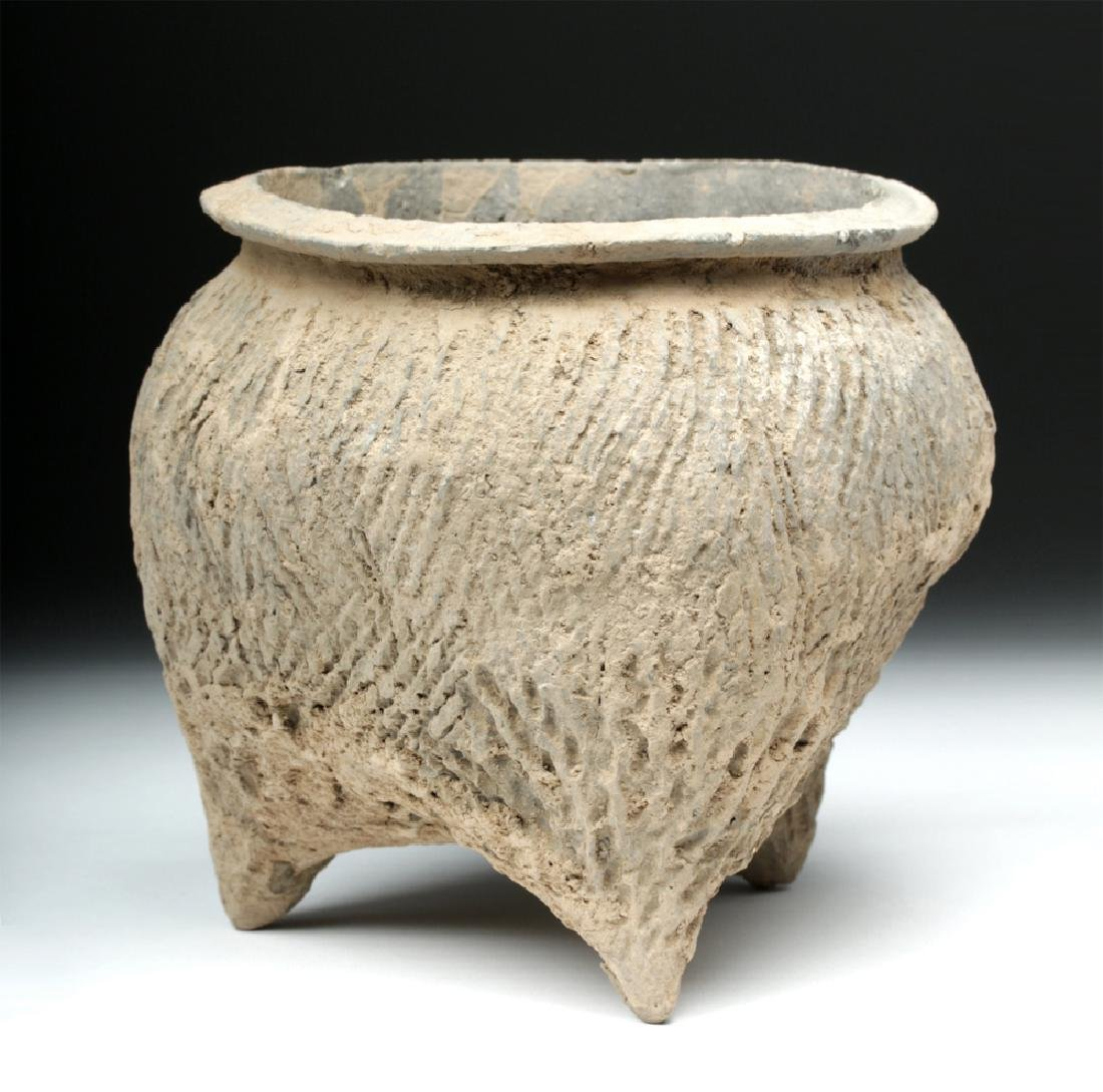 Chinese Neolithic Tripod Vessel - 3