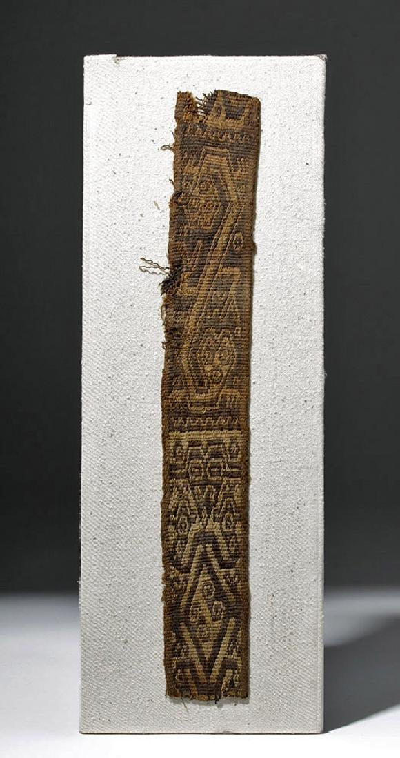Chimu Bi-Chrome Textile Strap - Abstract Animals