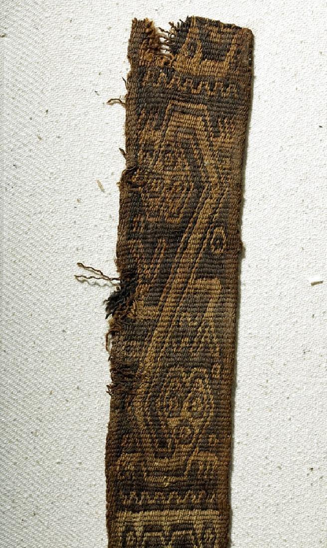 Chimu Bi-Chrome Textile Strap - Abstract Animals - 2