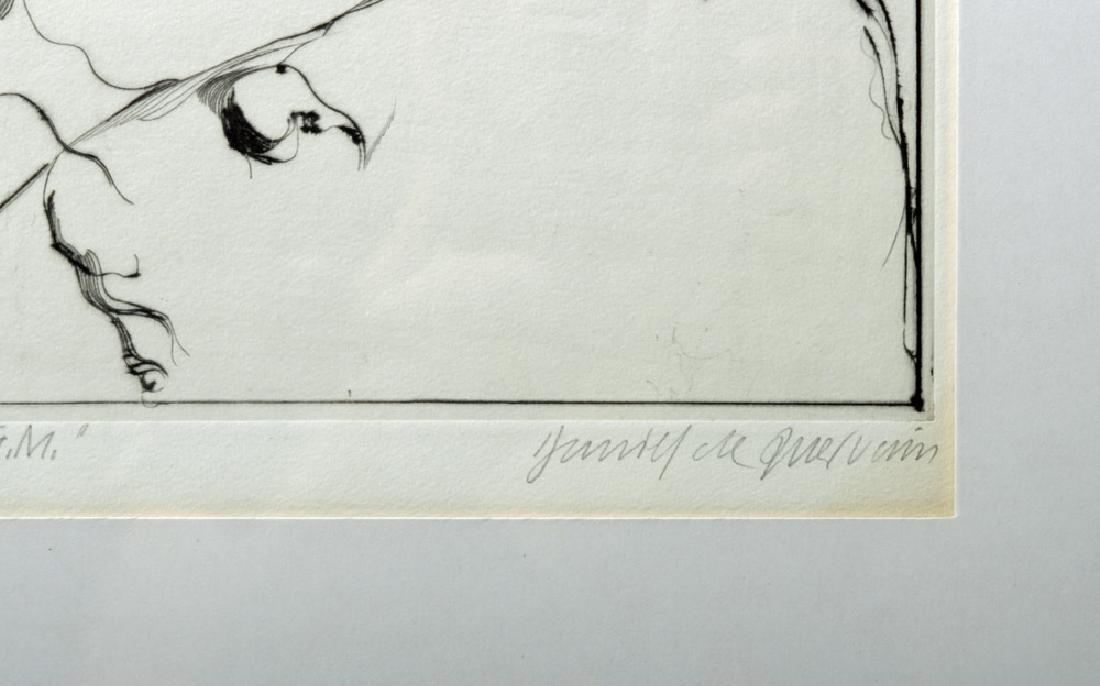 D. De Quervain Drypoint Engraved Portrait, 1967 - 3