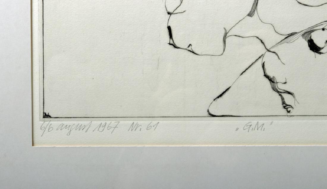 D. De Quervain Drypoint Engraved Portrait, 1967 - 4