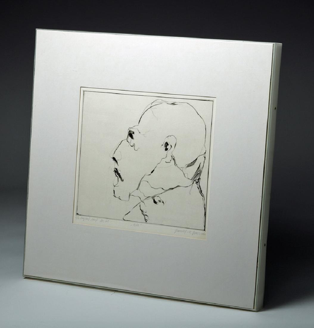 D. De Quervain Drypoint Engraved Portrait, 1967 - 5