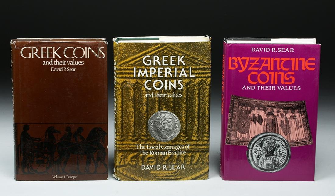 Lot of Six Reference Books on Ancient Coins - 2