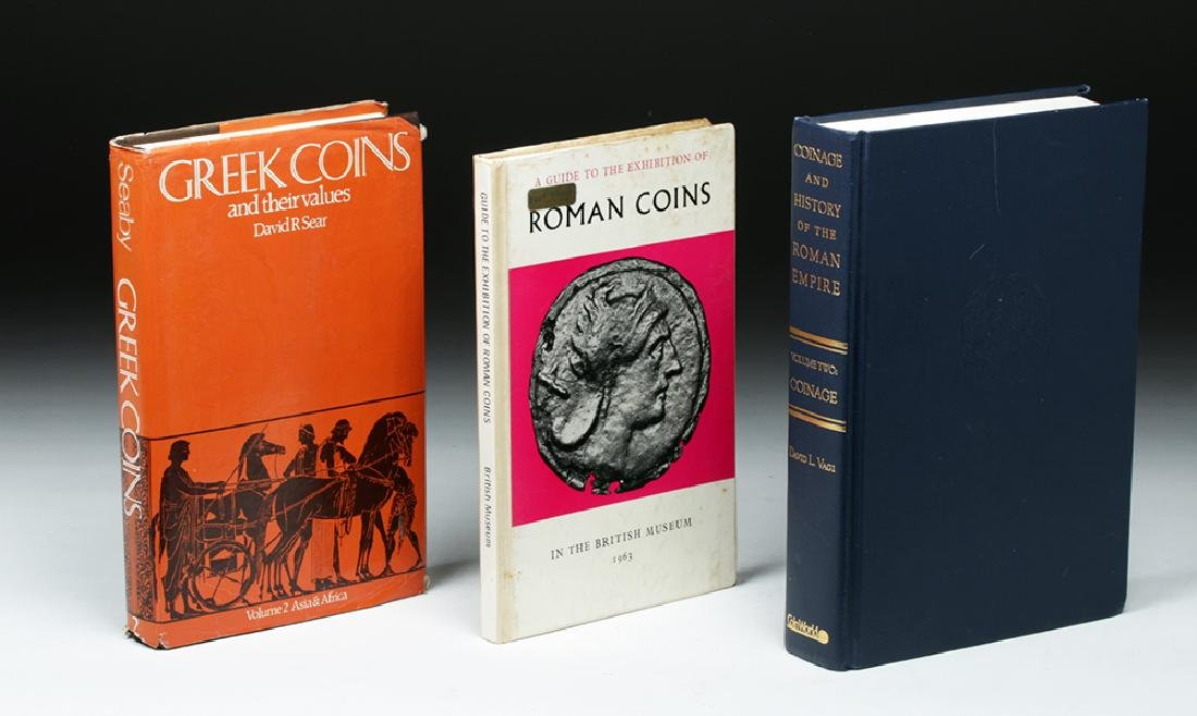 Lot of Six Reference Books on Ancient Coins - 3