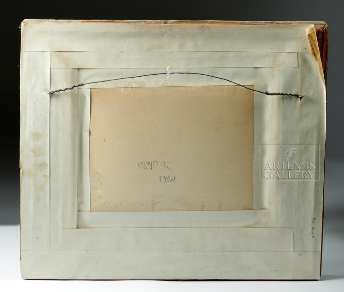 Signed / Framed Painting of Winter Scene - Dujardin - 5