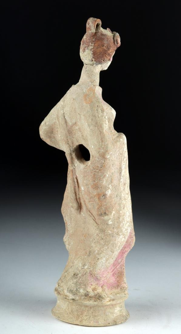 Greek Canosan Polychrome Statue of Woman - 5