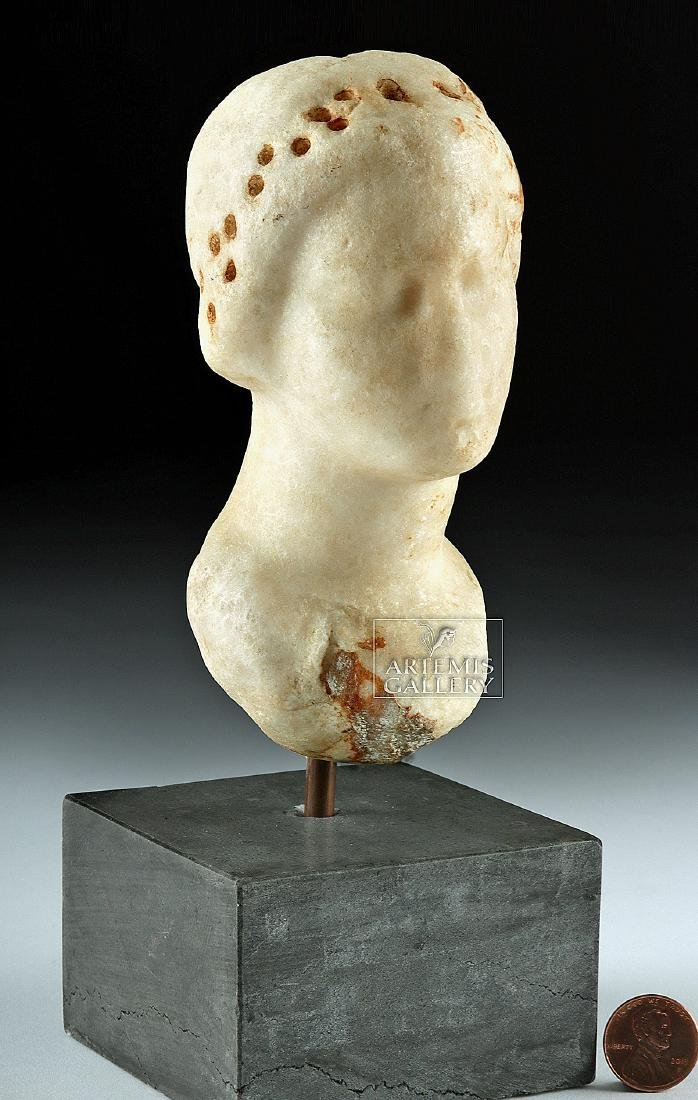 Greek Hellenistic Marble Bust of Aphrodite - 2