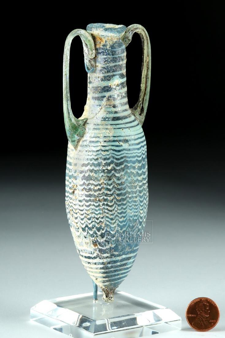 Greek Core Formed Glass Amphoriskos - 2