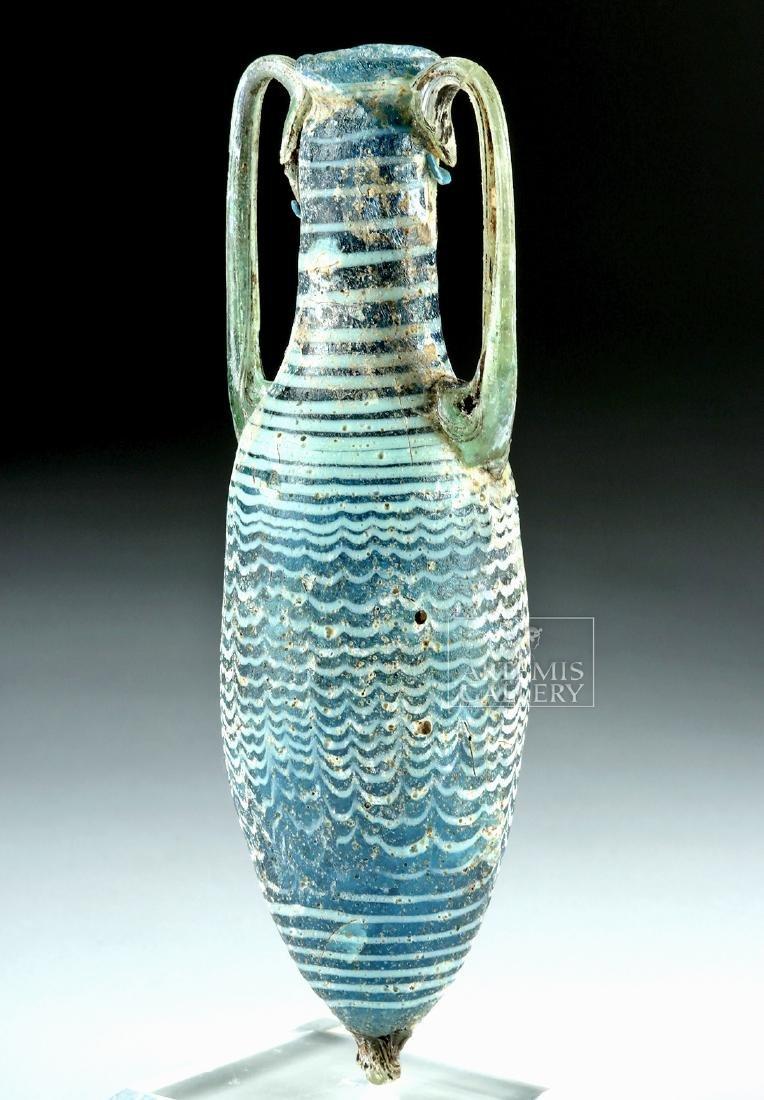 Greek Core Formed Glass Amphoriskos - 3