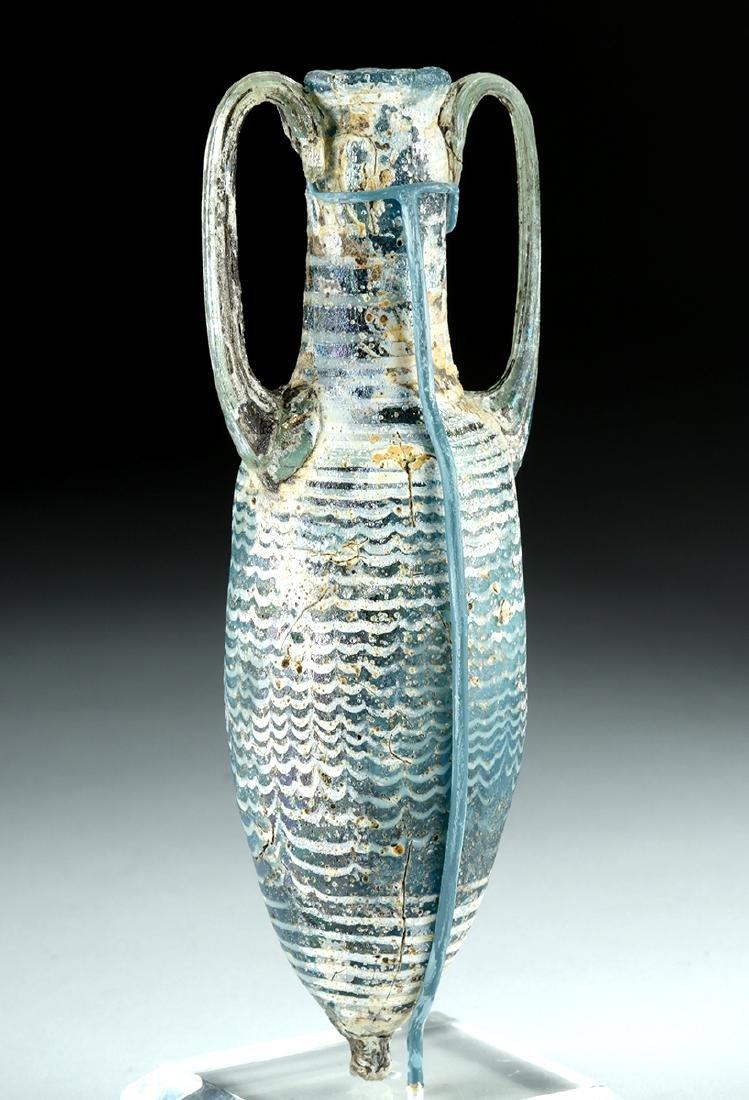 Greek Core Formed Glass Amphoriskos - 4