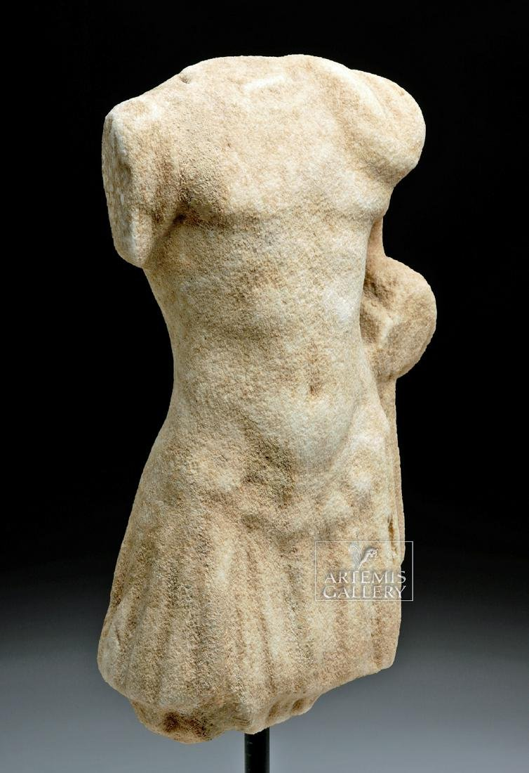 Roman Marble Torso of Mars in Military Attire - 3