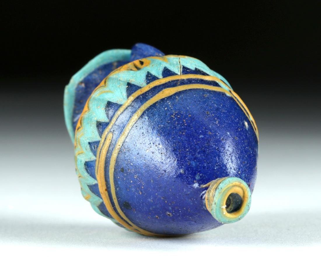 Stunning Greek Core-Formed Glass Amphoriskos - 7