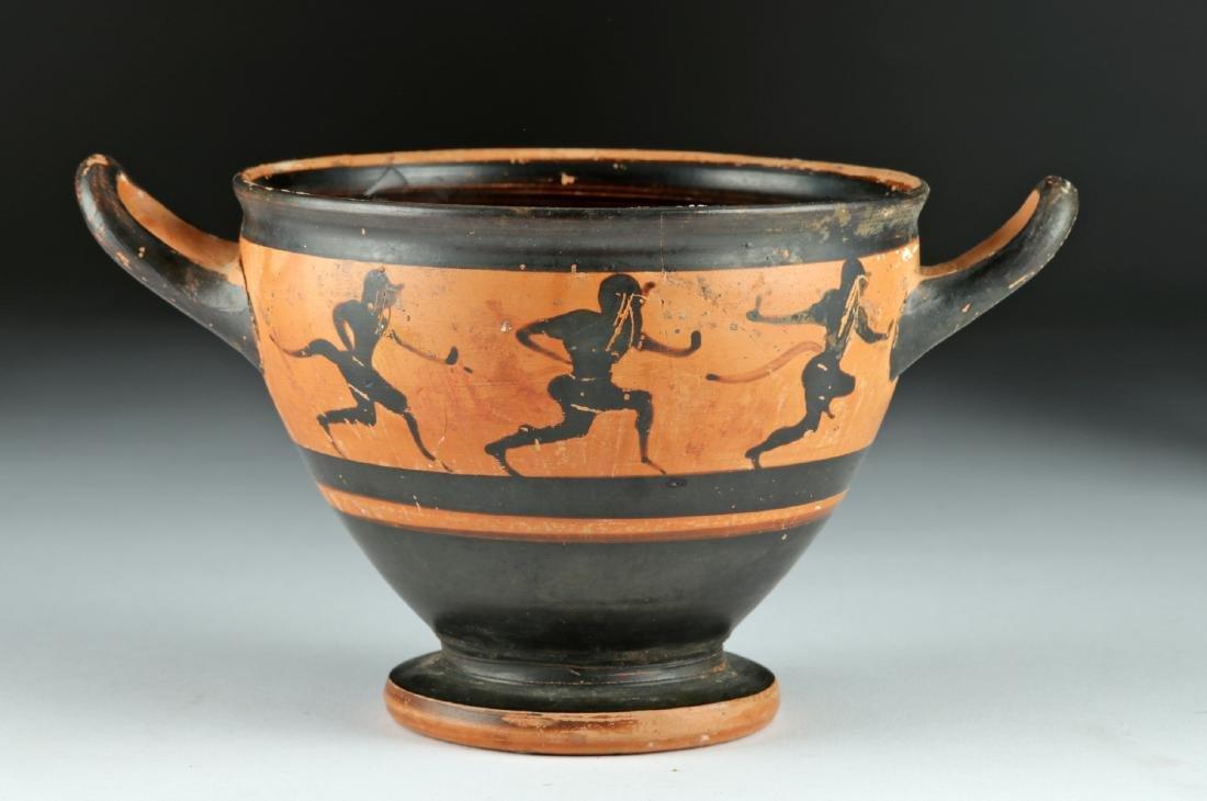 Published Greek Attic Black-Figure Skyphos – Satyrs - 4