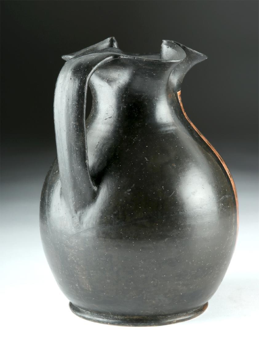 Greek Apulian Red-Figure Trefoil Oinochoe - 3