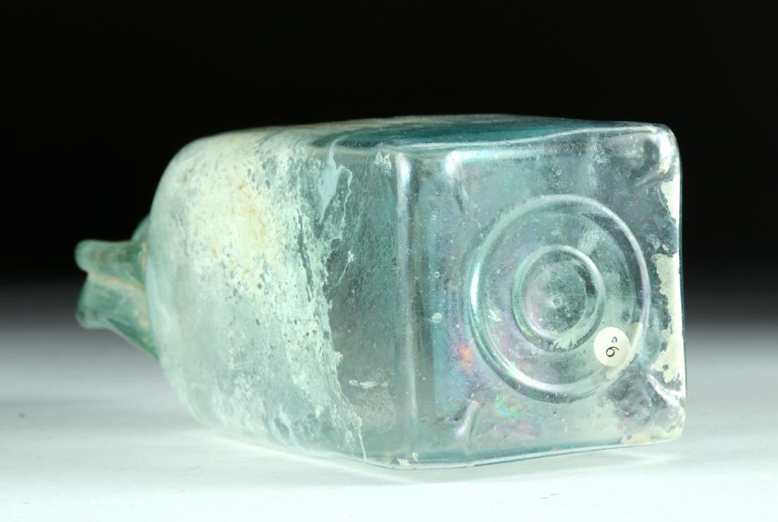 Choice Roman Glass Rectangular Bottle, ex-Bonhams - 4