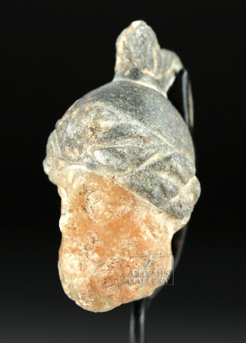 Rare Roman Stone Pendant w/ Mars - 2