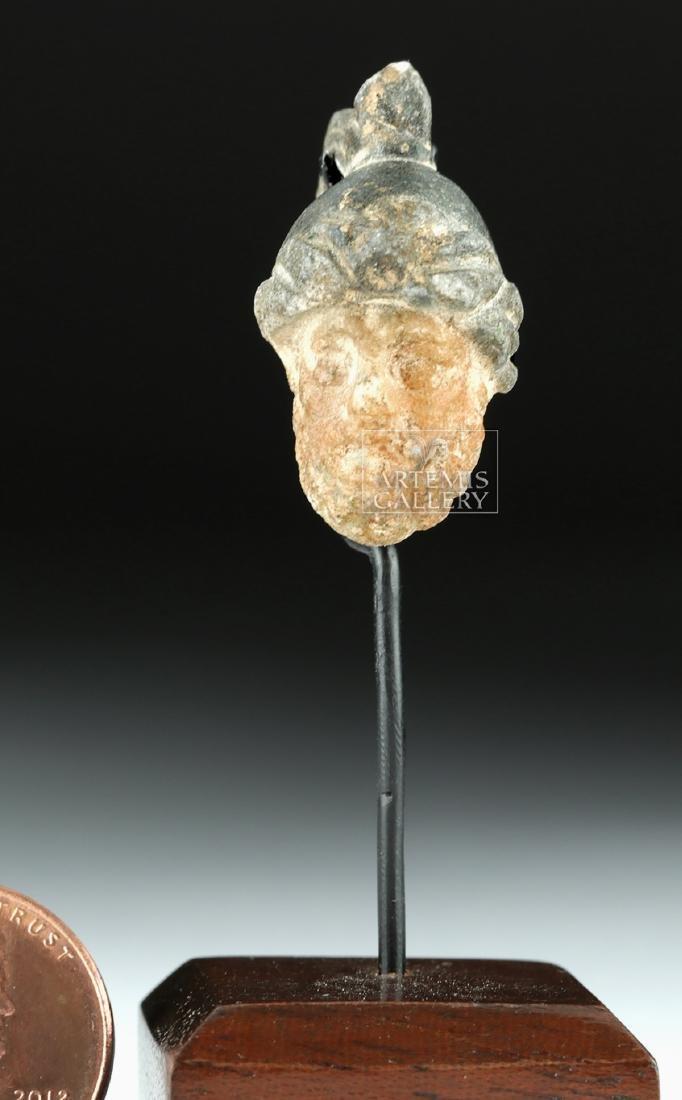 Rare Roman Stone Pendant w/ Mars - 5
