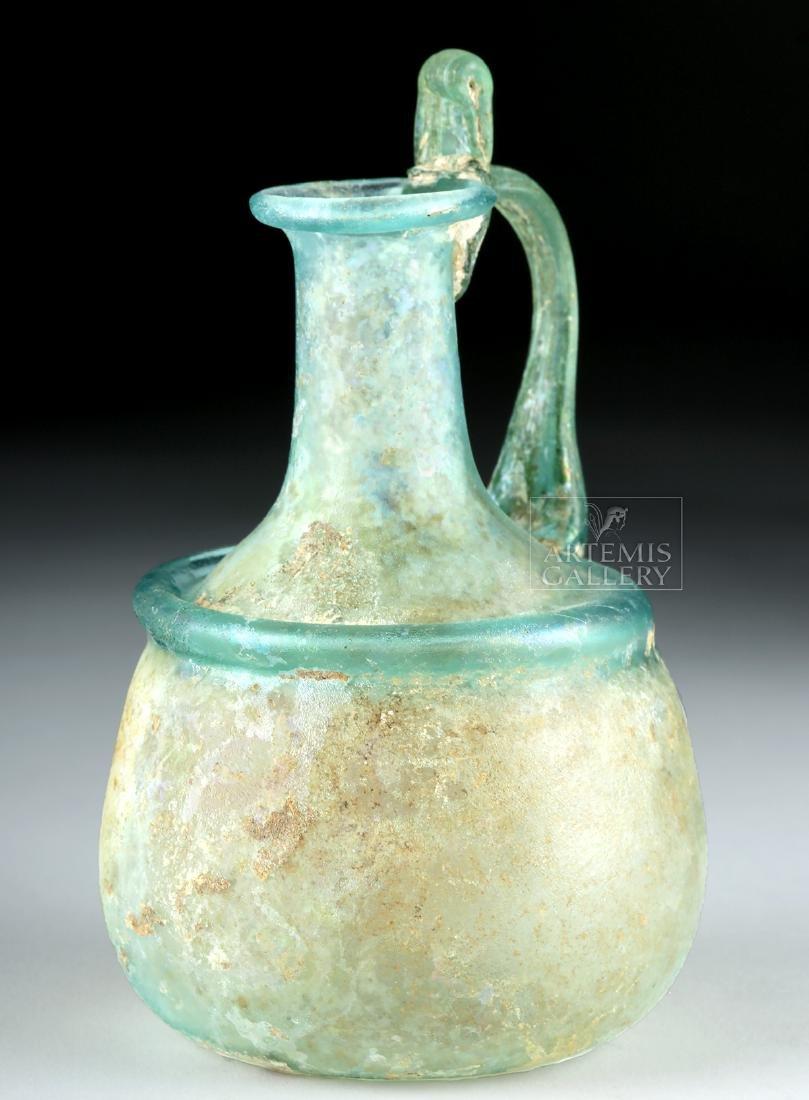 Roman Glass Pitcher - Rare Form - 2