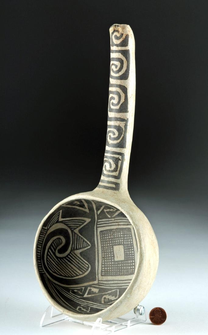 Anasazi Tularosa Pottery Black-on-White Ladle