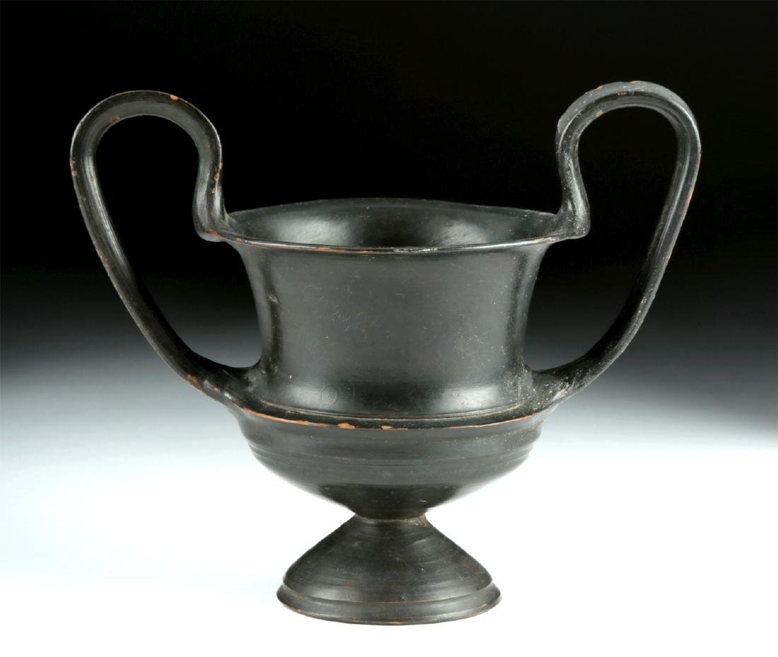 Lovely & Near Choice Greek Pottery Kantharos
