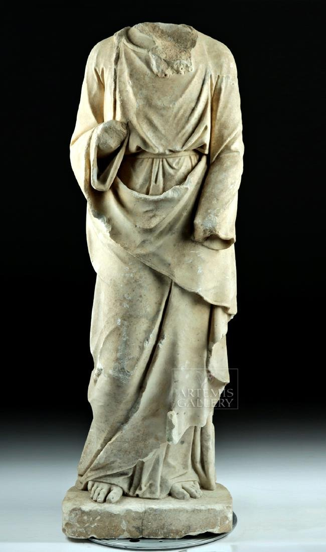 Huge Hellenistic / Roman Marble Statue of Hades