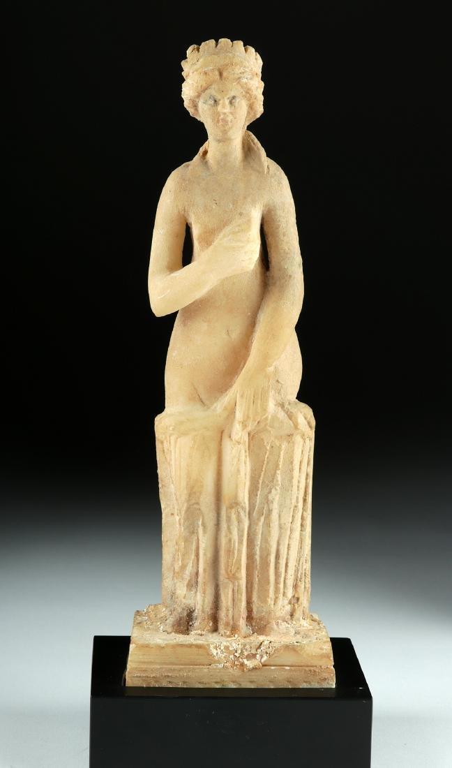 Roman Marble Statue of Venus Pudica