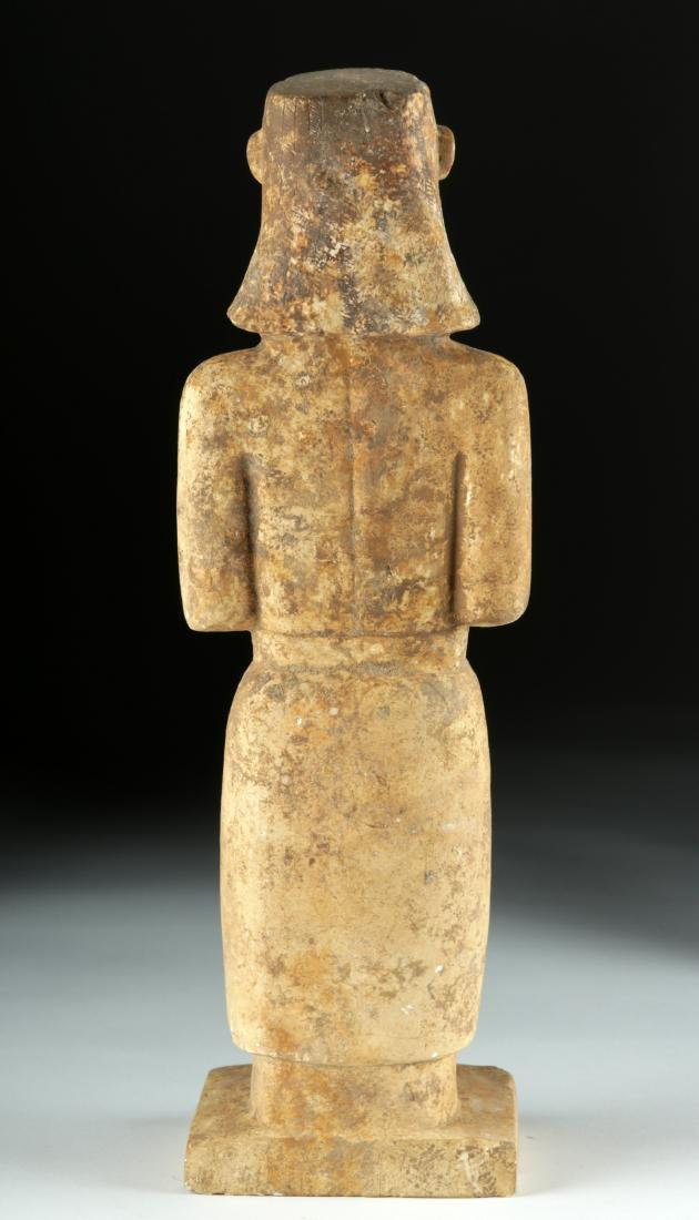 Very Rare South Arabian Limestone Standing Figure - 4