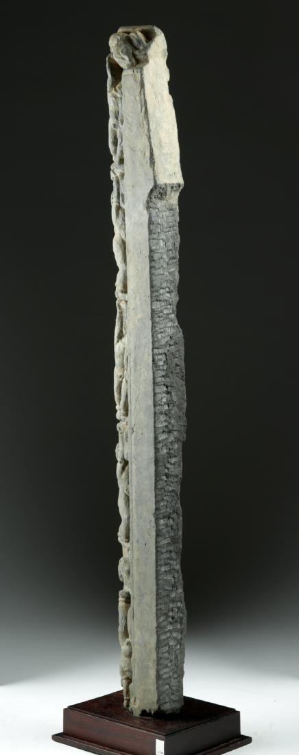 Tall & Rare Gandharan Schist Frieze - 3