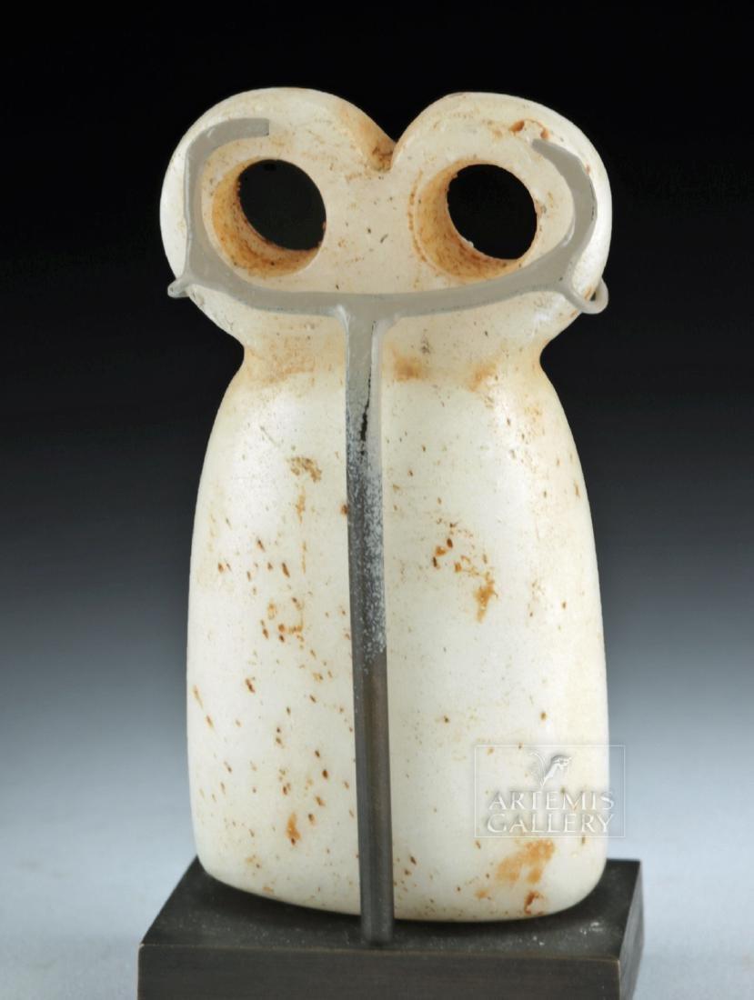 Exceptional Tel Brak Stone Eye Idol - 4