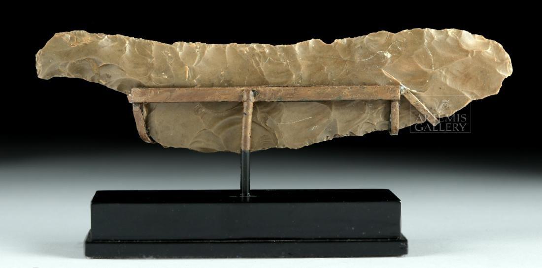 Near Choice Egyptian Pre-Dynastic Stone Knife - 3