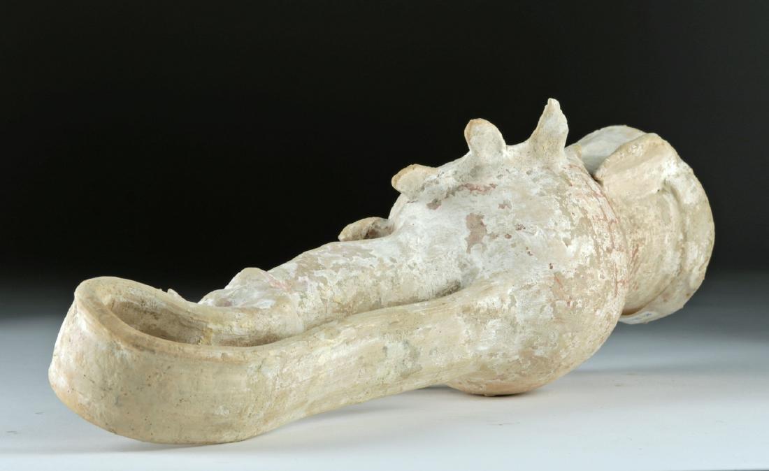 Beautiful Greek Canosan Terracotta Face Vessel - 6