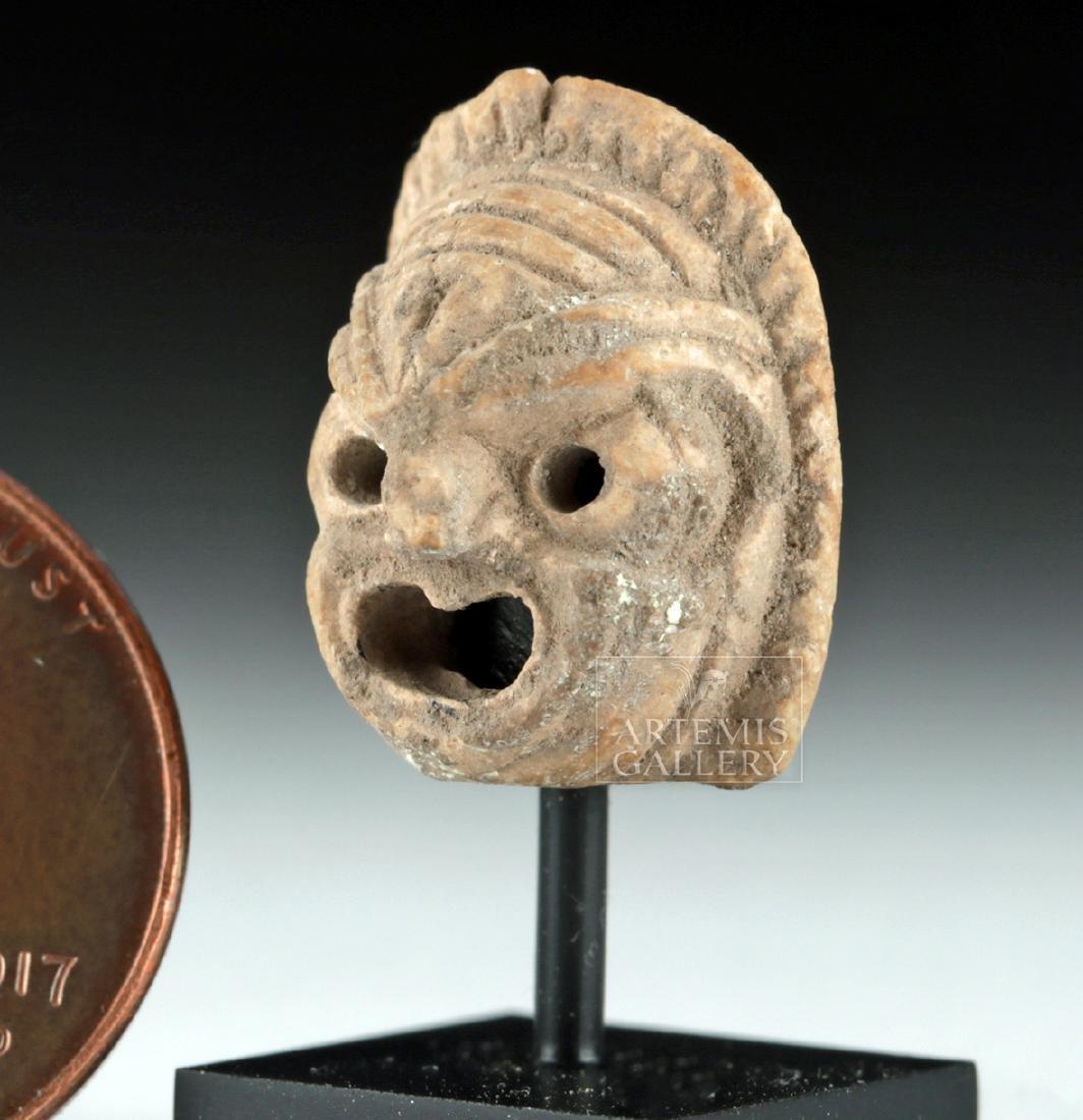 Rare Miniature Roman Terracotta Actor's Mask