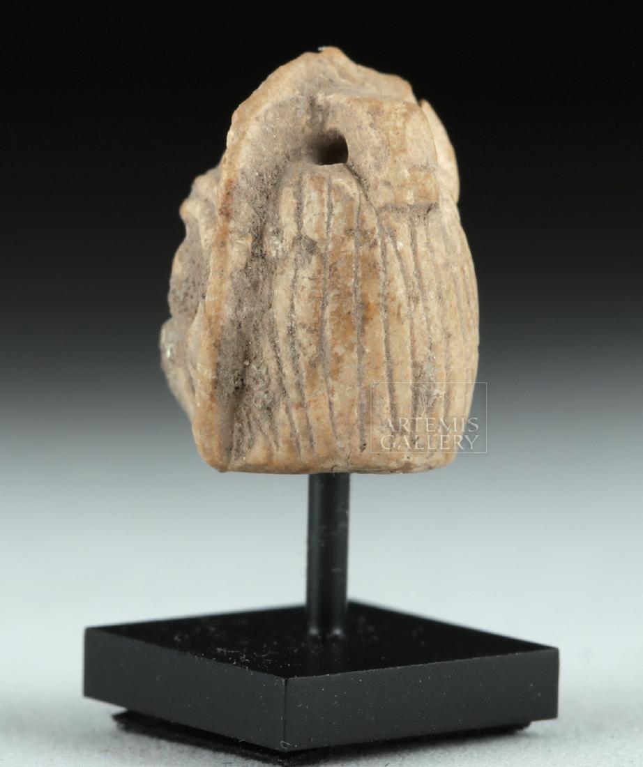 Rare Miniature Roman Terracotta Actor's Mask - 4